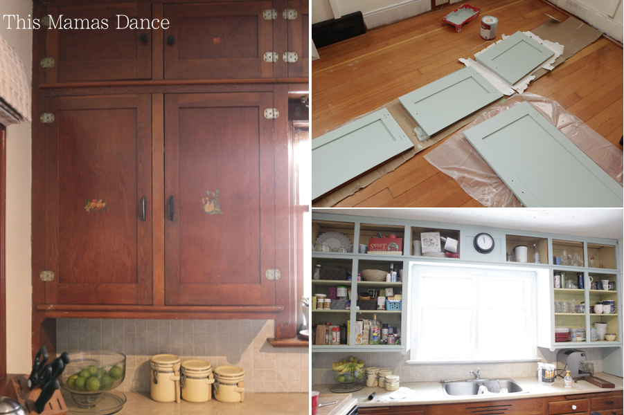 paintingkitchencabinets1