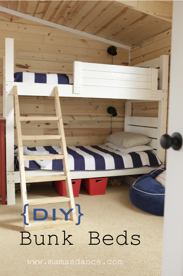 DIY bunk bed sign