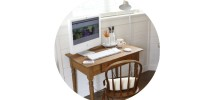 desk alcove button