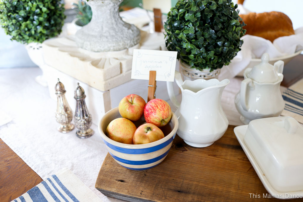 Farmhouse table Setting-5