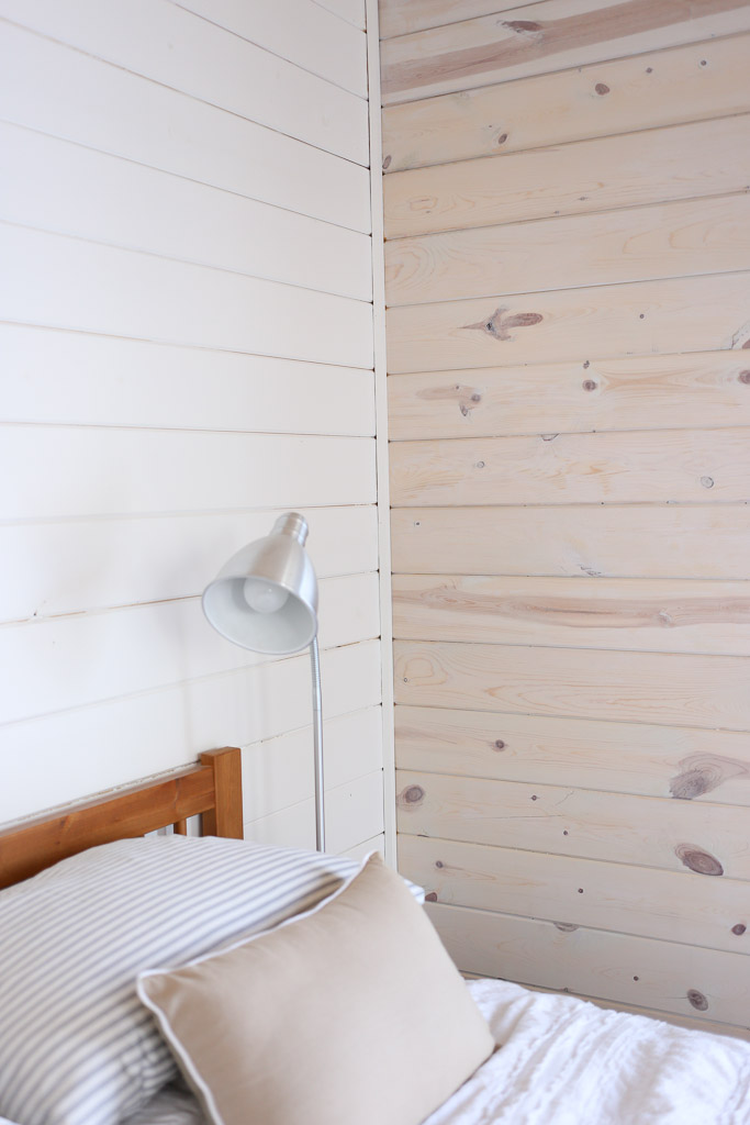 White Washed Horizontal Planked Pine Wall-5