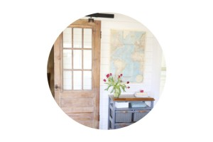 Third Times a Charm {Our Antique Barn Door is Complete!}