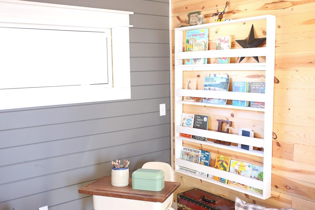 One Room Challenge Week 3: Reading Corner