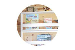 DIY Wall Mount Book Shelf