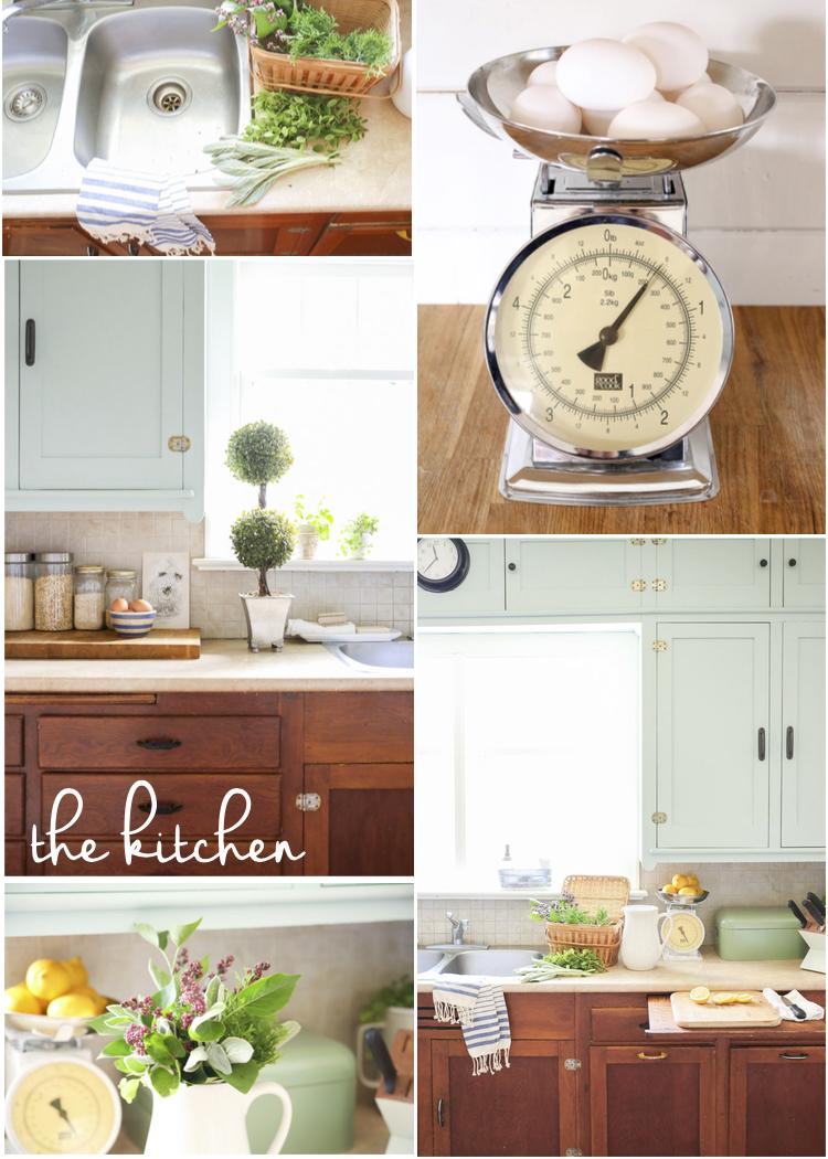 kitchen tour collage