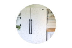 Off The Wall: I Wall Papered the Fridge