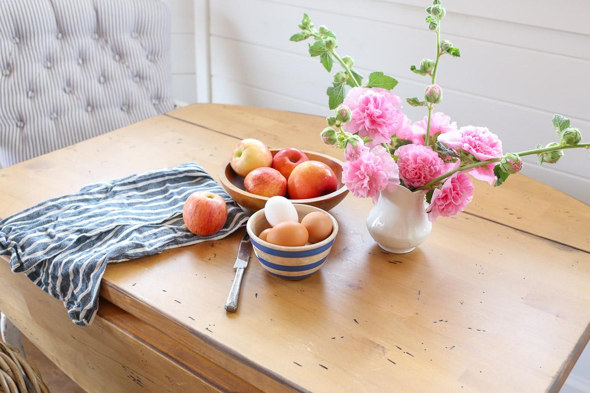 The Rustic Farmhouse Drop Leaf Table