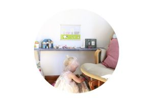 A Place to Play {a toy shelf for Finley}