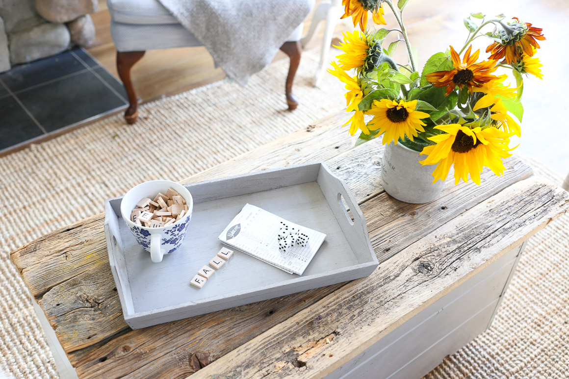 fall-living-room-sunflowers-grey-and-blue-this-mamas-dance-2