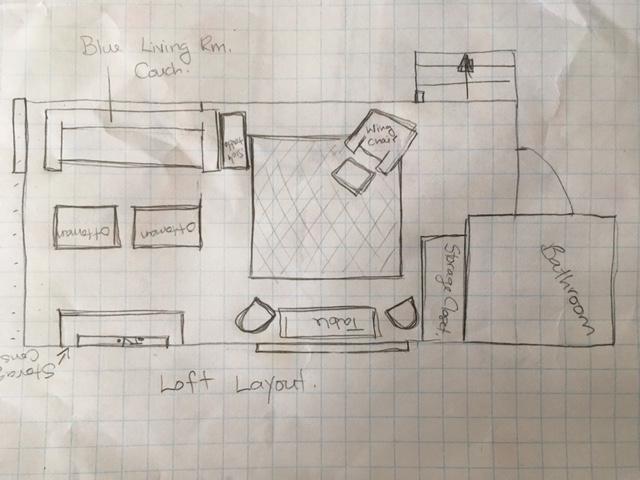 loft family room makeover
