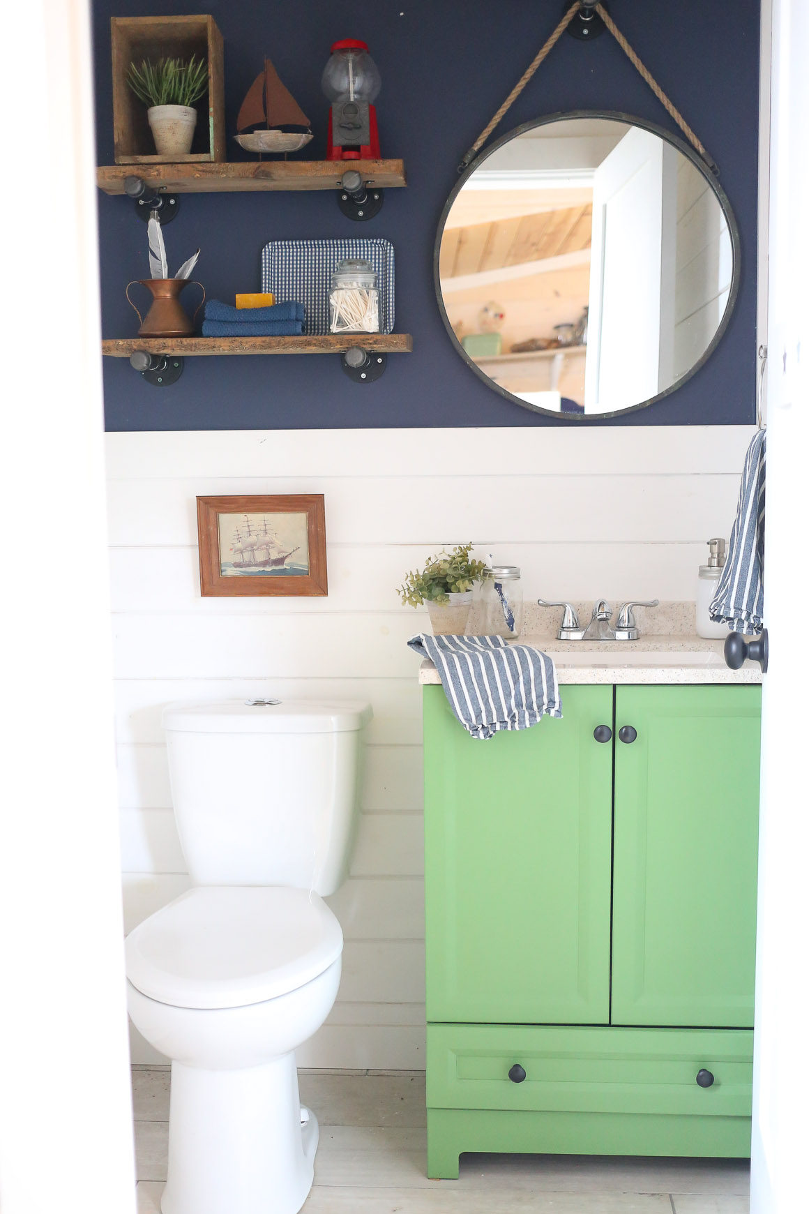 Kids Coastal Bathroom