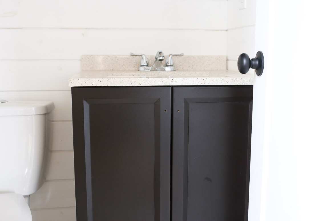 Cheap bathroom vanities under 24200 - Seeing Green Painted Bathroom Vanity This Mamas Dance