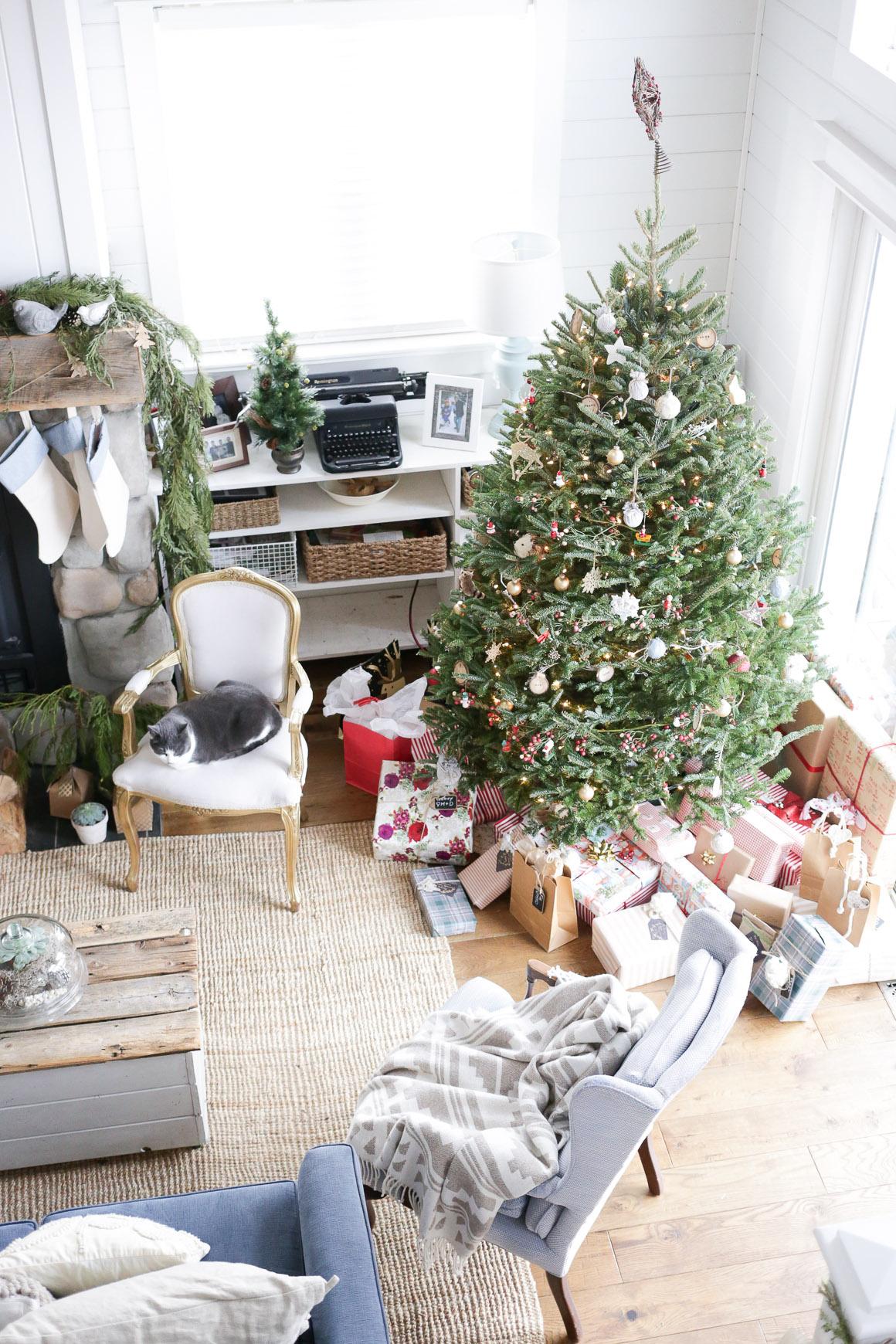 Merry Christmas Living Room Tour | This Mamas Dance