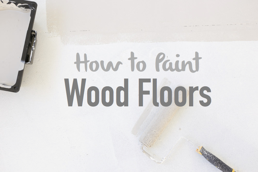 How to Paint Wood Floors | via Ashlea of This Mamas Dance